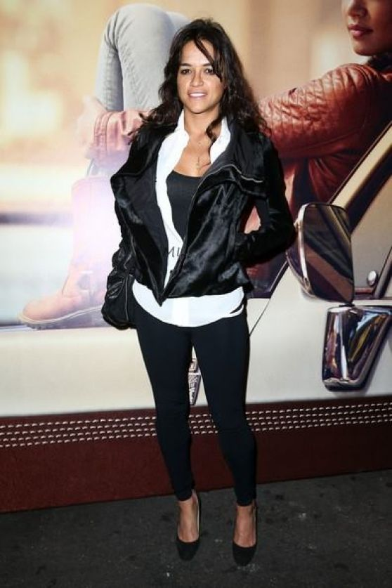 Michelle Rodriguez at Timberland Fall 2014 Concert