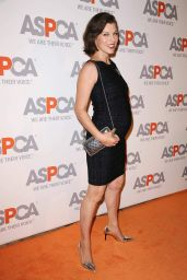Milla Jovovich – 2014 AASPCA Passion Awards Coctail Party in Bel Air