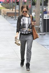 Minka Kelly Street Style - Out in Los Angeles, October 2014