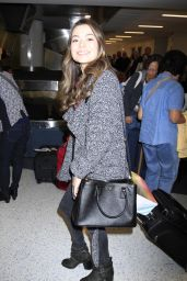 Miranda Cosgrove at LAX Airport in Los Angeles - Oct. 2014