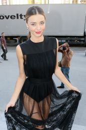 Miranda Kerr - Paris Fashion Week - Shiatzy Chen Show, Sept. 2014
