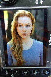 Molly Quinn Photo (by Eric Blackmon), October 2014