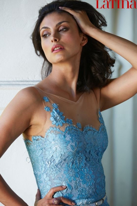 Morena Baccarin - Latina Magazine November 2014 Issue
