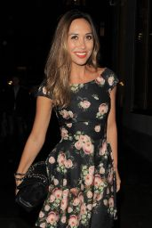 Myleene Klass - Andrew Levitas Launch Exhibition in London - October 2014