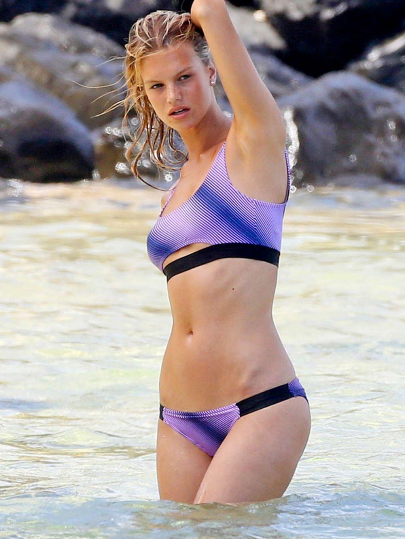Nadine Leopold Bikini Photoshoot - Maui (2014)
