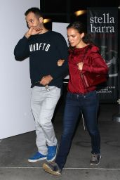 Natalie Portman and Her Husband at ArcLight Cinemas in Hollywood - October 2014