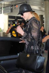 Nicole Kidman Arrives at LAX Airport - October 2014