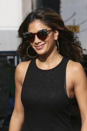 Nicole Scherzinger Booty in Jeans - Leaving the ITV Studios in London - October 2014