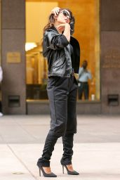 Nicole Scherzinger - Leaving SiriusXM Radio in New York City, Oct. 2014