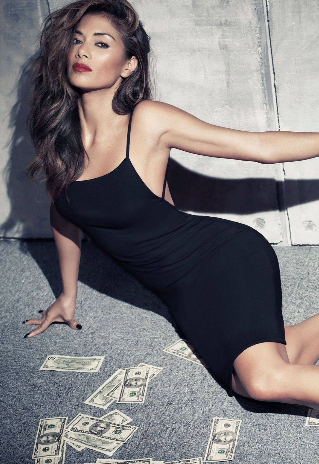 Nicole Scherzinger Photoshoot For Missguided Collection