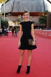 Nicoletta Romanoff in Mini Dress - Rome Film Festival 2014