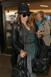 Nikki Reed at LAX Airport - October 2014