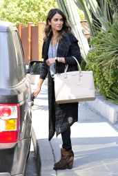 Nikki Reed Casual Style - Out in Los Angeles, October 2014