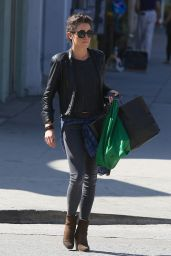 Nikki Reed in Tight Jeans - Out in Studio City - October 2014