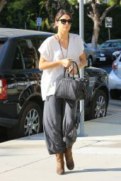 Nikki Reed Street Style - Out in Beverly Hills, October 2014