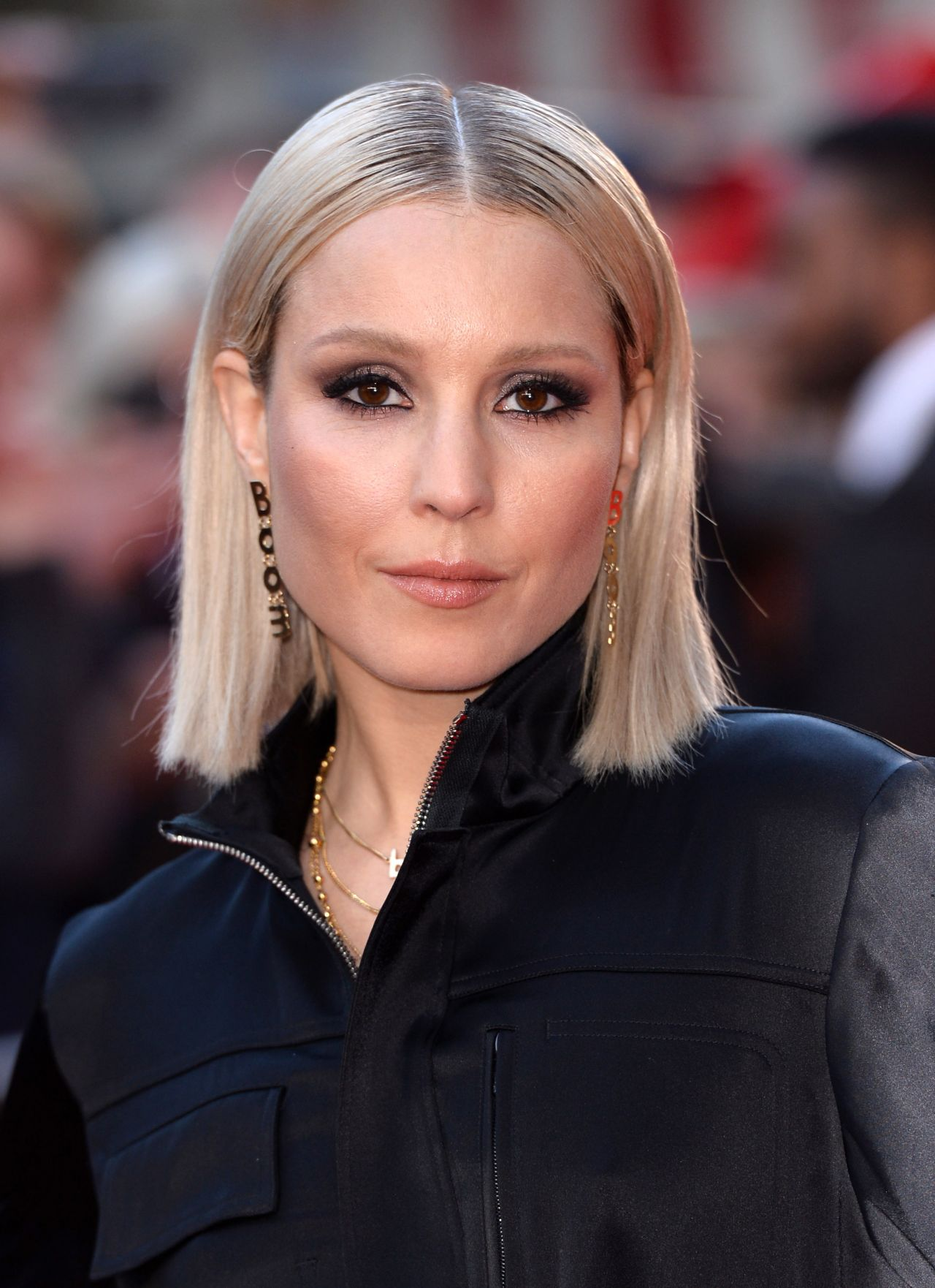 Noomi Rapace On Red Carpet The Drop Premiere 2014