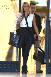 Paris Hilton Shopping in Beverly Hills - Oktober 2014