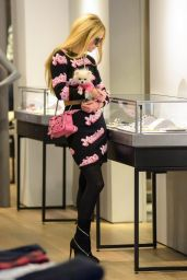 Paris Hilton Style - Shopping in New York City - October 2014