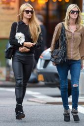 Paris & Nicky Hilton - Out in New York City - October 2014