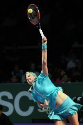 Petra Kvitova – 2014 WTA Finals in Singapore (vs Agnieszka Radwanska)