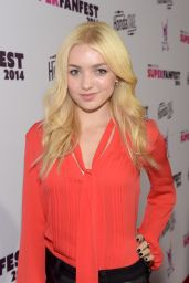 Peyton R. List at Vevo CERTIFIED SuperFanFest in Santa Monica