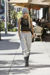 Pia Mia Perez Street Style - Out in Los Angeles, October 2014