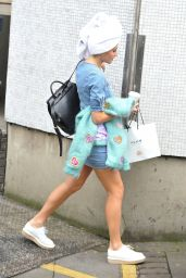 Pixie Lott - Leaving ITV Studios in London - Sept. 2014