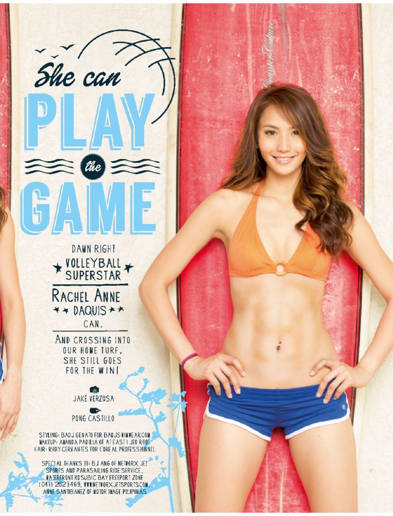 ... Anne Daquis – FHM Magazine (Philippines) – October 2014 Issue