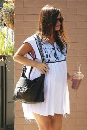Rachel Bilson Street Style - Shopping at Stamp Proper Foods in Los Feliz, Sept. 2014