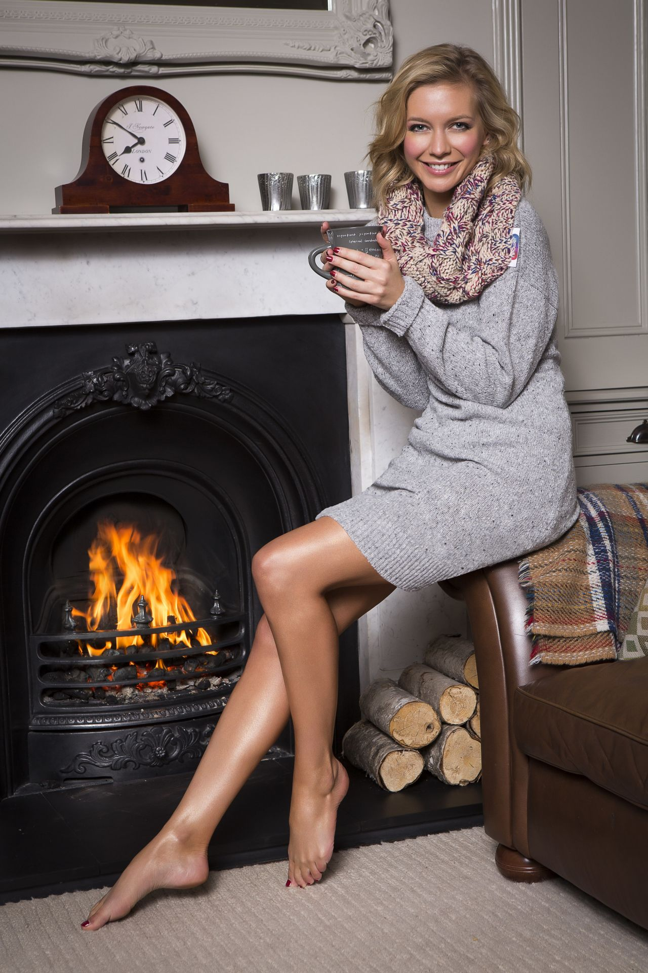 Rachel Riley - Npower Acts Of Warmness Campaign 2014-6495