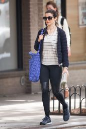 Rachel Weisz Street Style - Out in New York City - September 2014