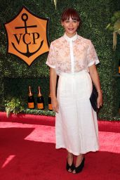 Rashida Jones - 2014 Veuve Clicquot Polo Classic in Los Angeles