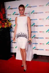 Rebecca Romijn - MIPCOM 2014 Opening Party at the Hotel Martinez in Cannes, France