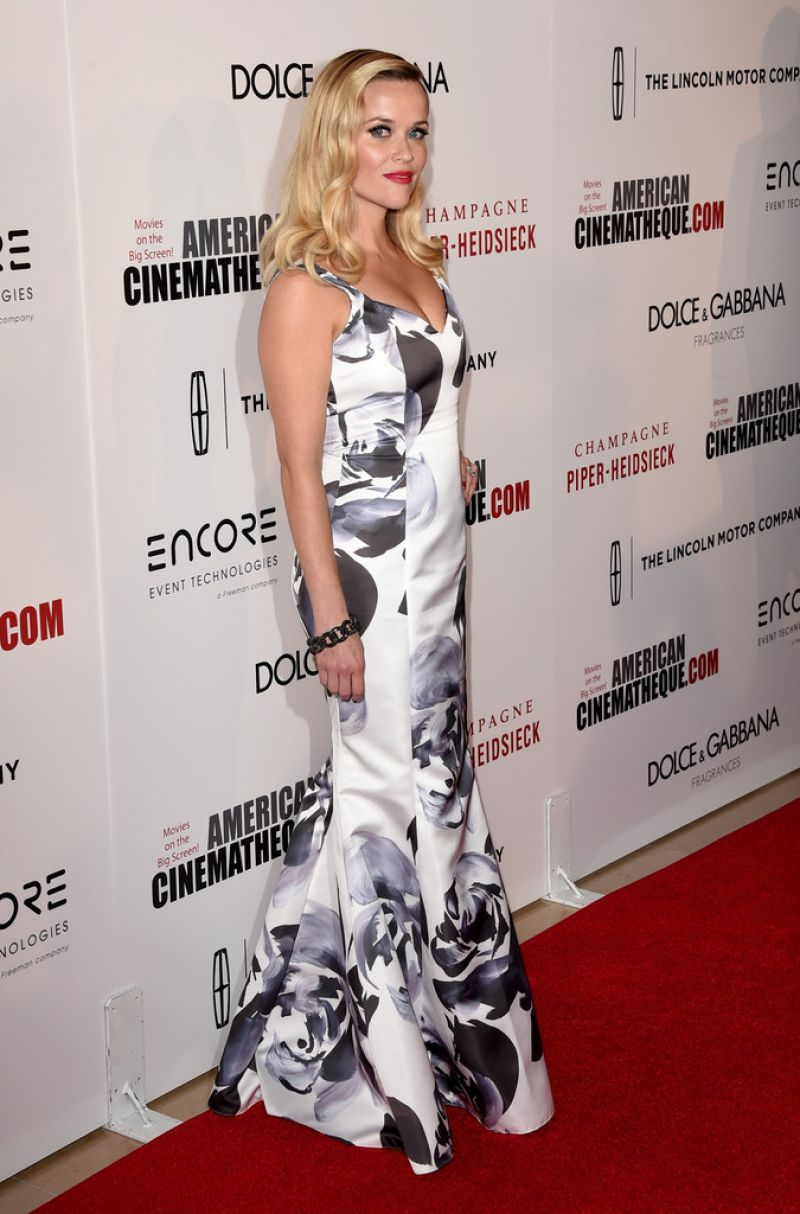 Reese Witherspoon – 2014 American Cinematheque Awards in Beverly Hills