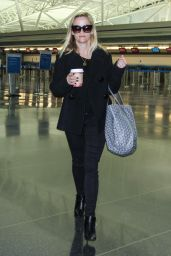 Reese Witherspoon Arriving New York City - JFK Airpot, October 2014