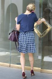 Reese Witherspoon Style - Leaving Her Office in Beverly Hills - October 2014