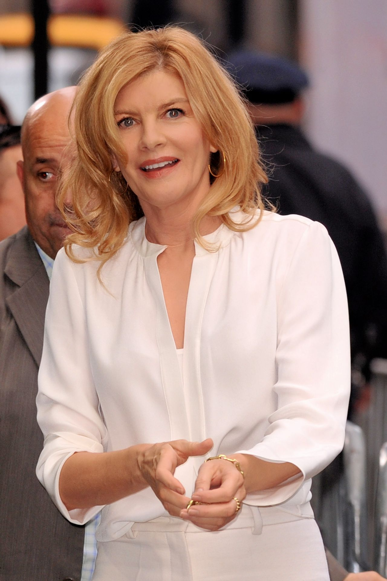 Rene Russo Arriving To Appear On Good Morning America In
