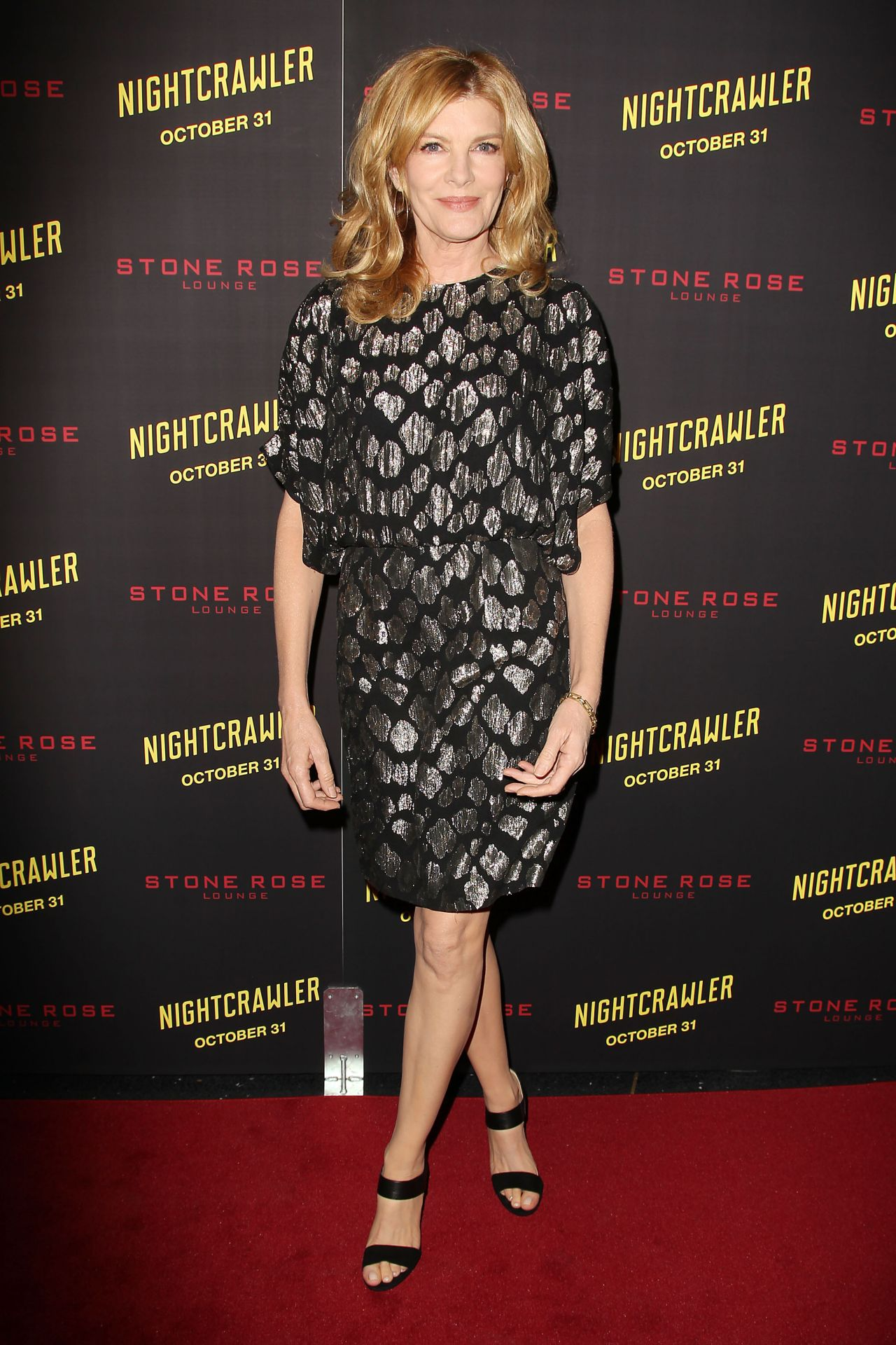 Rene Russo Nightcrawler Premiere In New York City