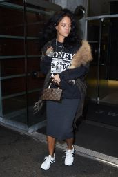 Rihanna Casual Style - Leaving a Dentist Office in New York City - Oct. 2014
