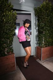 Rihanna Style - Georgio Baldi Restaurant in Santa Monica - October 2014