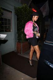 Rihanna Style - Georgio Baldi Restaurant in Santa Monica - October 2014