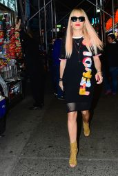 Rita Ora Night Out Style - Out in New York City - October 2014