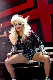 Rita Ora Performing in Moscow For The First Time - October 2014