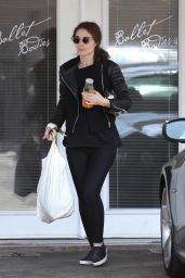 Rooney Mara - Leaving a Ballet Body Class in West Hollywood - October 2014
