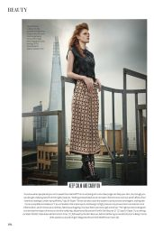 Rose Leslie - InStyle Magazine (UK) - November 2014 Issue