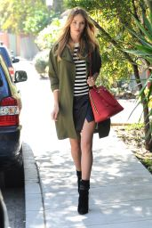 Rosie Huntington-Whiteley Street Style - Out in Los Angeles - October 2014