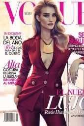 Rosie Huntington-Whiteley - Vogue Mexico November 2014 Issue