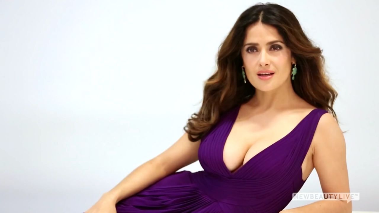 Salma Hayek - New Beauty Cover Photoshoot (2014)