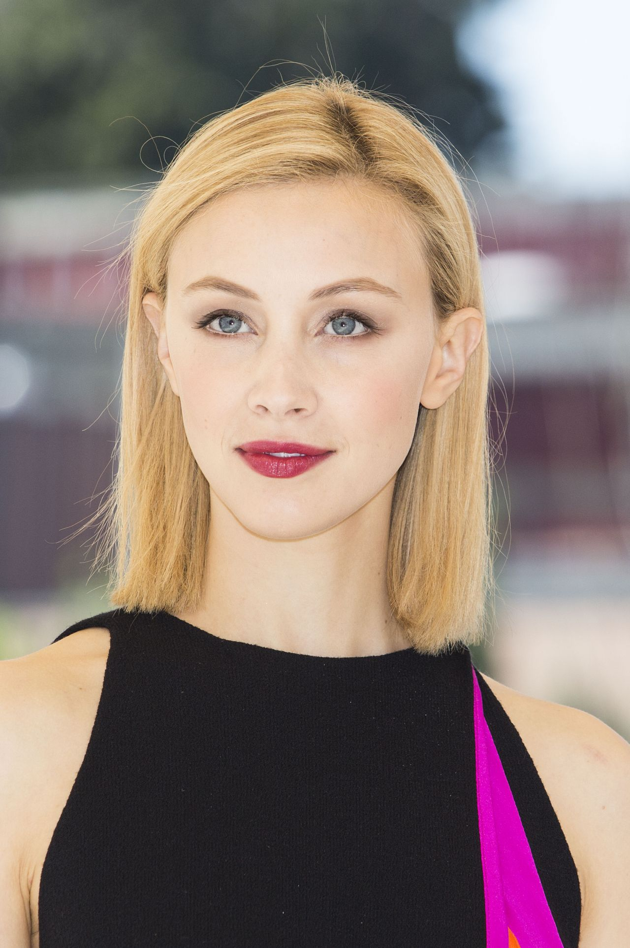 Sarah Gadon Gets Glam On Fashion Magazine Cover: 'Dracula Untold' Photocall In Rome