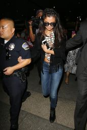 Selena Gomez at LAX Airport in Los Angeles, October 2014